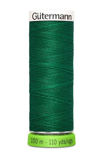 Gutermann Sew All Thread - Green Recycled Polyester rPET Colour 402