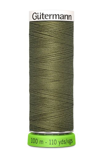 Gutermann Sew All Thread - Green Recycled Polyester rPET Colour 432