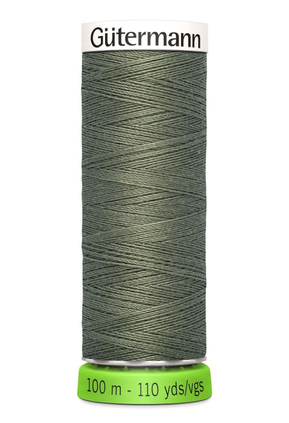 Gutermann Sew All Thread - Green Recycled Polyester rPET Colour 824