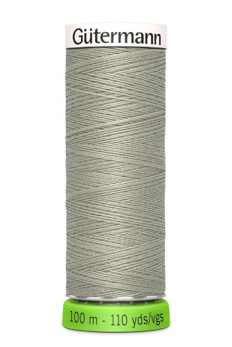 Gutermann Sew All Thread - Grey Recycled Polyester rPET Colour 132