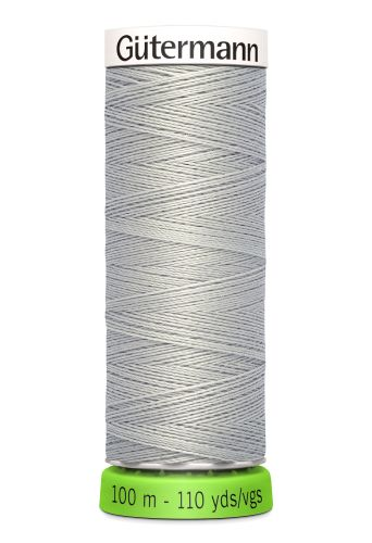Gutermann Sew All Thread - Grey Recycled Polyester rPET Colour 38