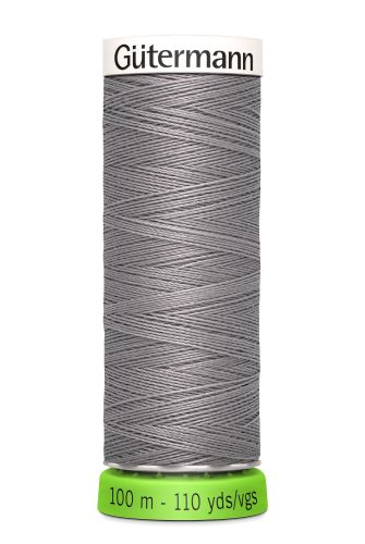 Gutermann Sew All Thread - Grey Recycled Polyester rPET Colour 493