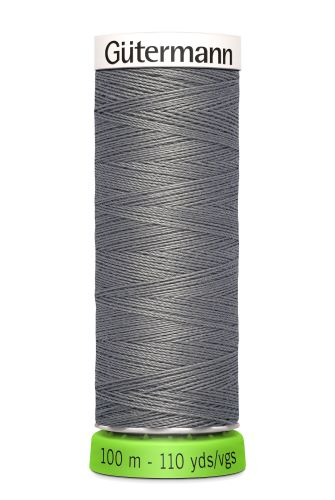 Gutermann Sew All Thread - Grey Recycled Polyester rPET Colour 496