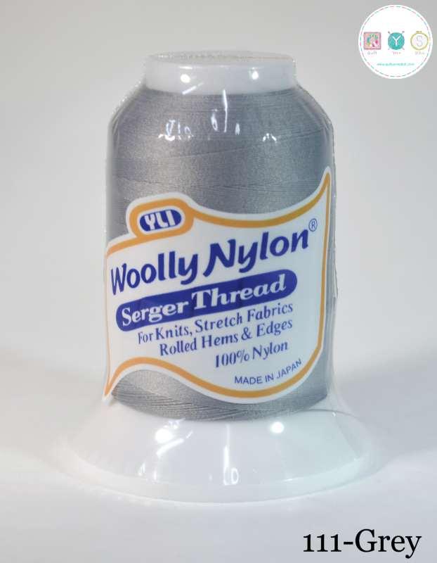 YLI Woolly Nylon Serger Thread - Pale Grey 111