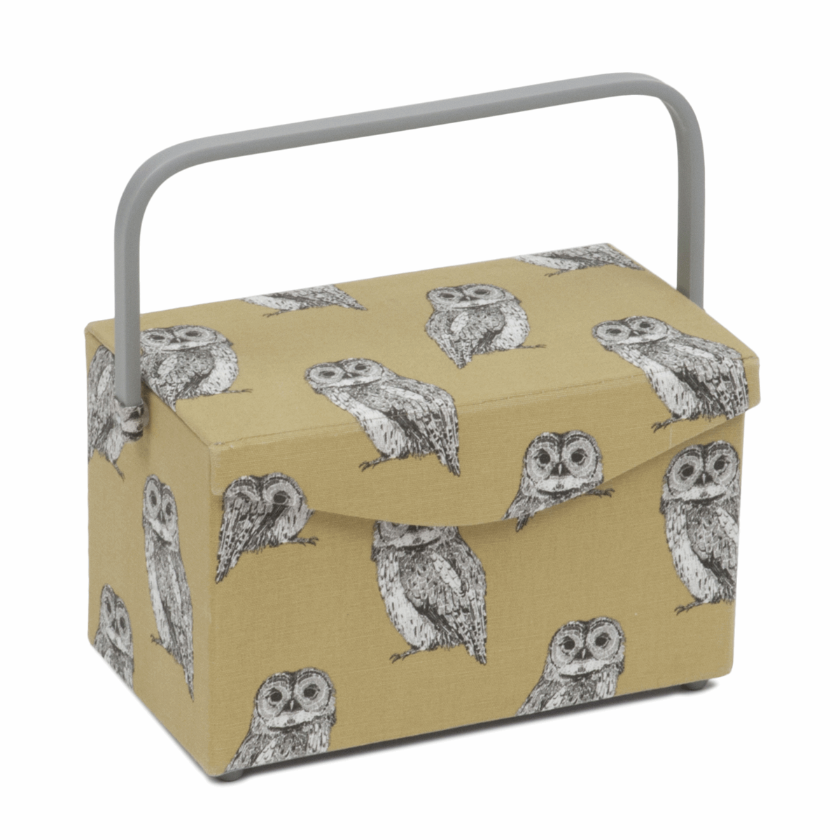 Owlet Sewing Box with Fold Over Lid