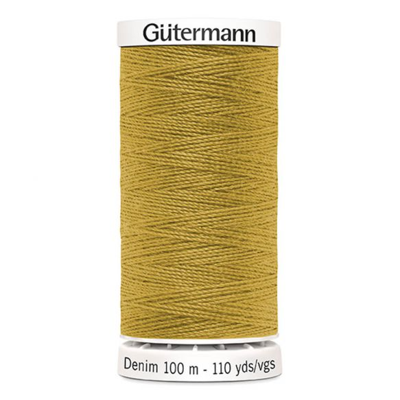 Gutermann Denim Thread - Light Gold Colour 1310
