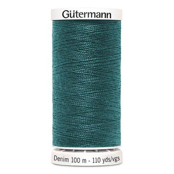 Gutermann Denim Thread -  Teal Colour 7735