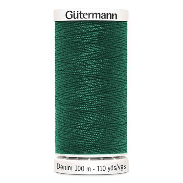 Bottle Green Gutermann Denim Thread - Bottle Green 8075