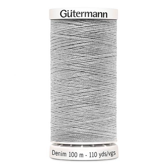 Gutermann Denim Thread - Light Grey 8765