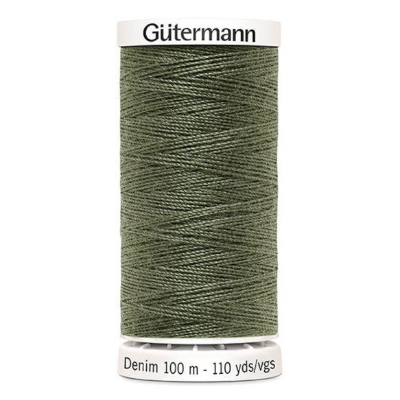 Gutermann Denim Thread - Khaki Green 9025