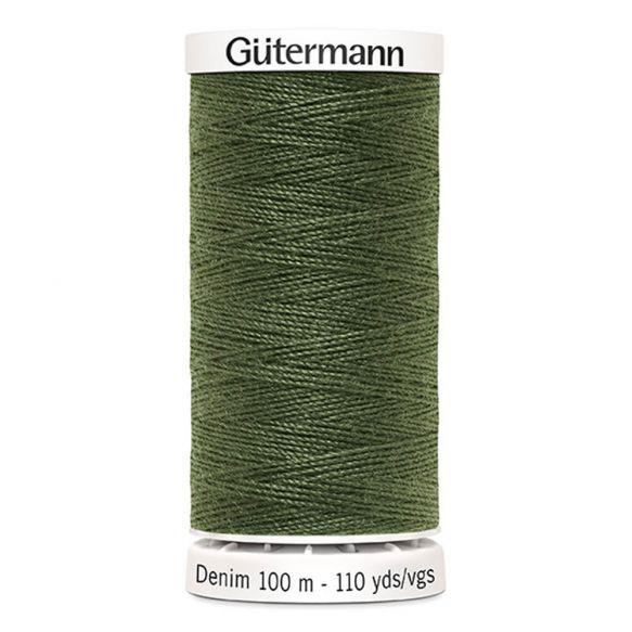 Gutermann Denim Thread - Olive Green 9250