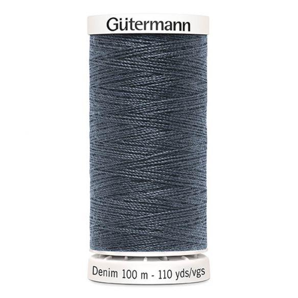 Gutermann Denim Thread - Darkest Grey 9336