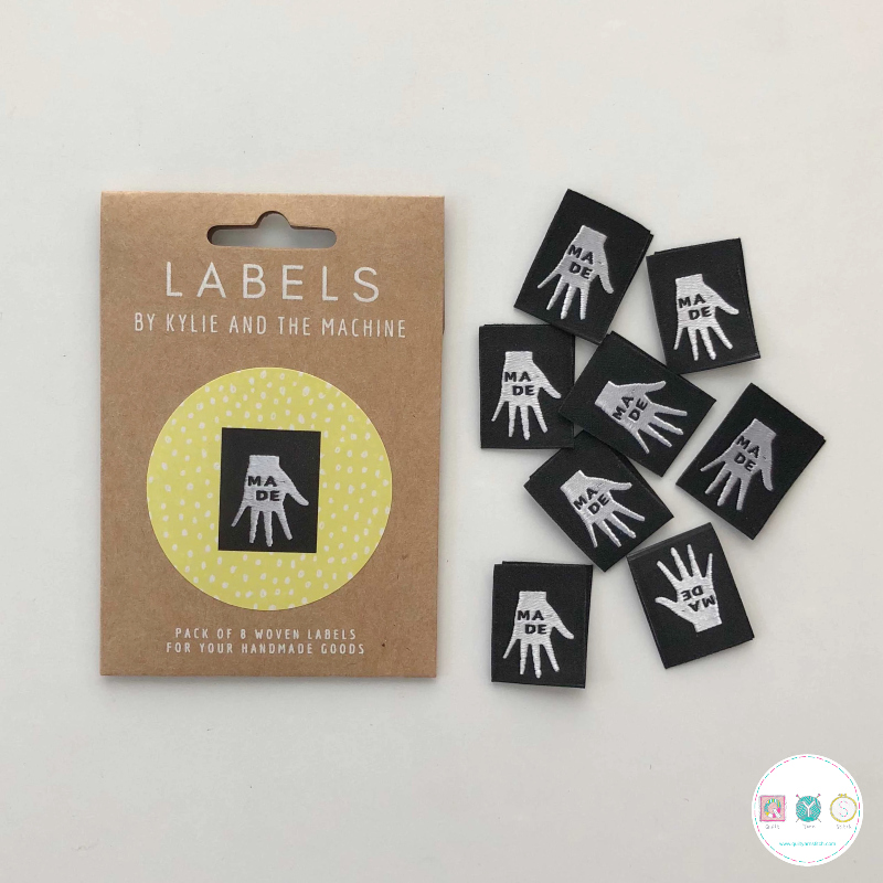 Gift Idea - Kylie and the Machine Woven Labels - Hand Made