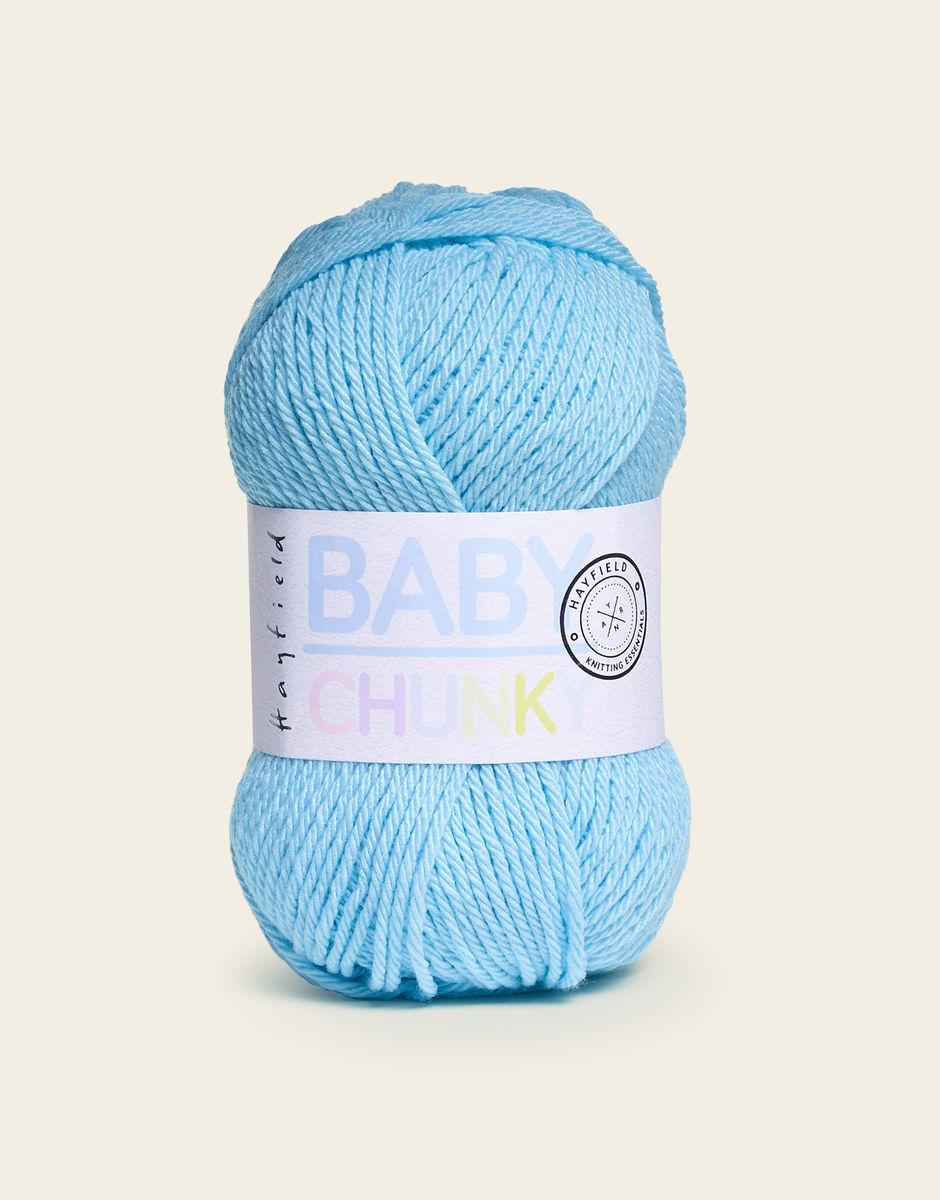 Yarn Hayfield  Baby Chunky in Bubblegum 474