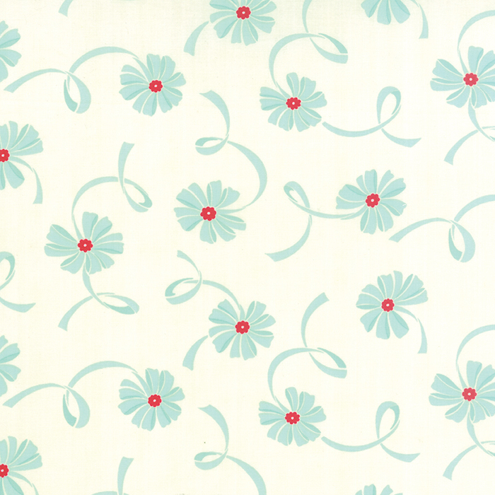 Hello Darling 5511622 - Modern Blue Flowers - by Bonnie & Camille for Moda Fabrics - Patchwork & Quilting