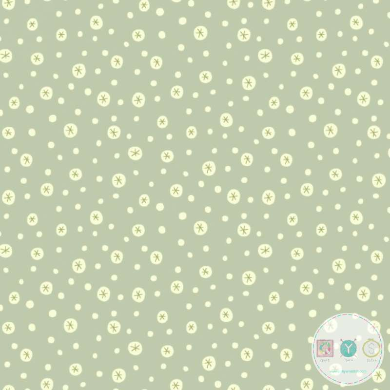 Snowflakes in Dots - Home For Christmas - 2074-11 - By Anni Downs of Hatched & Patched - Henry Glass & Co. - Patchwork & Quilting