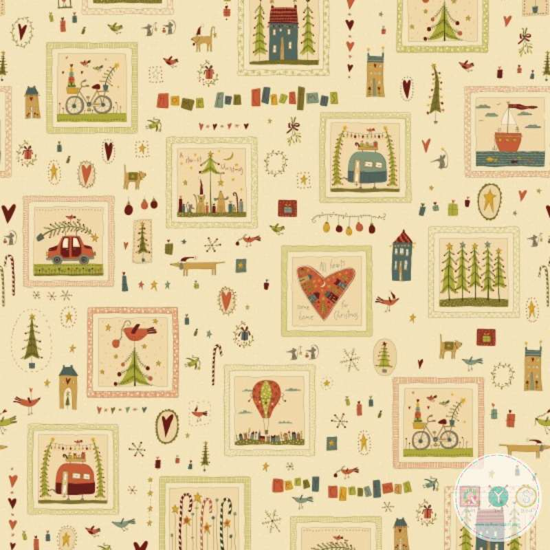 All Things Xmas - Home For Christmas - 2070-44 - By Anni Downs of Hatched & Patched - Henry Glass & Co. - Patchwork & Quilting
