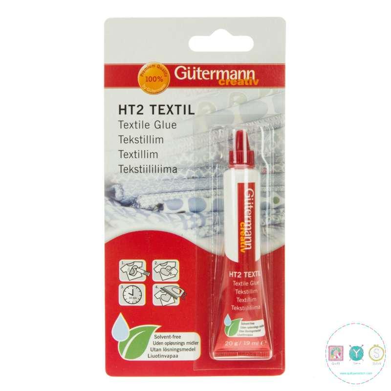 Gutermann Textile Glue - HT2 - 30g - Fabric Adhesive