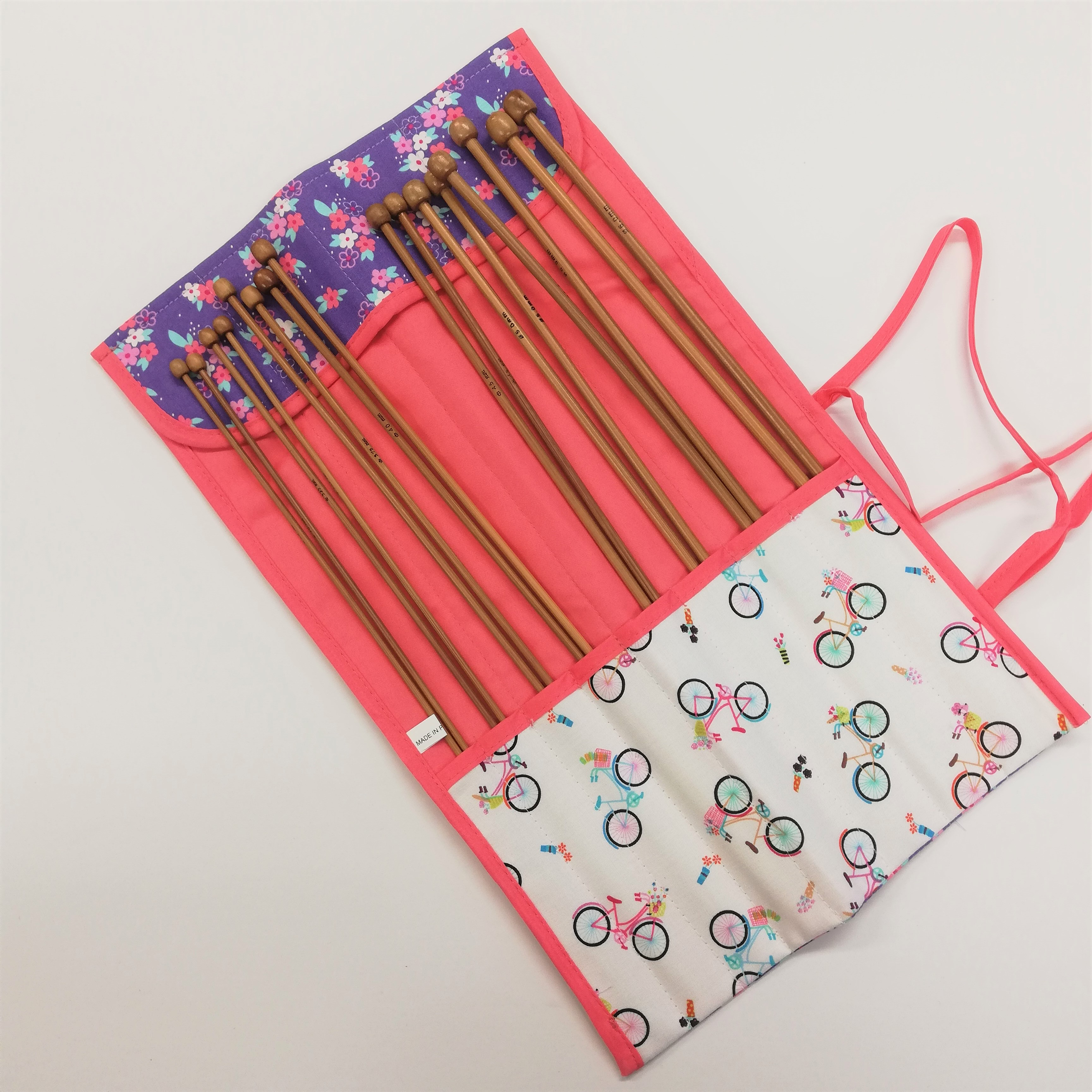 Gift Idea - Knitting Needle Roll Complete with Needles