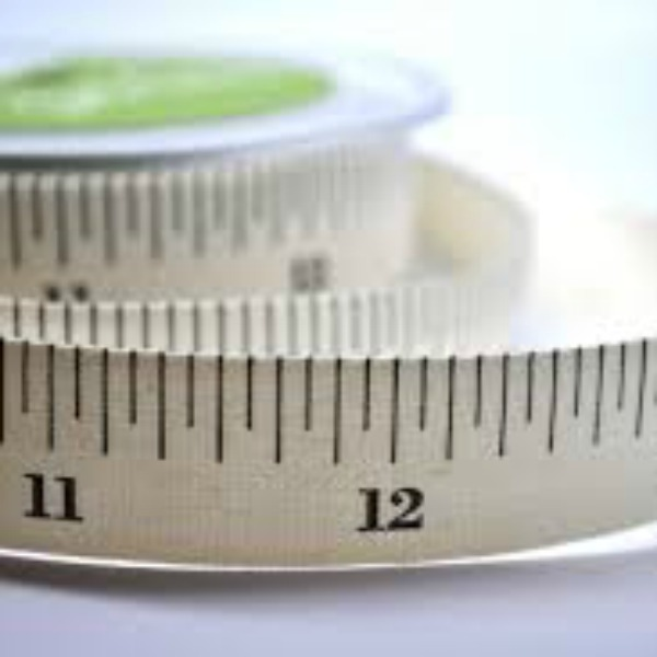 Tape Measure Inches Ribbon