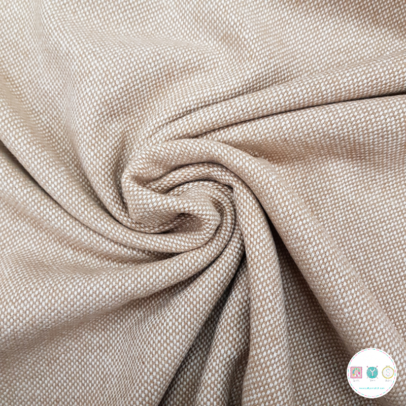 Camel Wool Blend - Coating - Dressmaking Fabric
