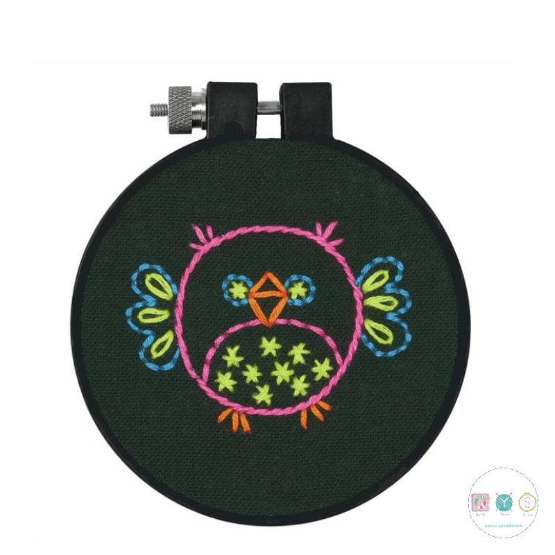 Dimensions Bird Embroidery Kit with Hoop - Embroidery - Kits & Gifts