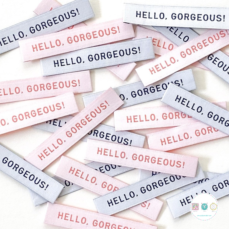 Gift Idea - Kylie and the Machine Woven Labels - Hello Gorgeous