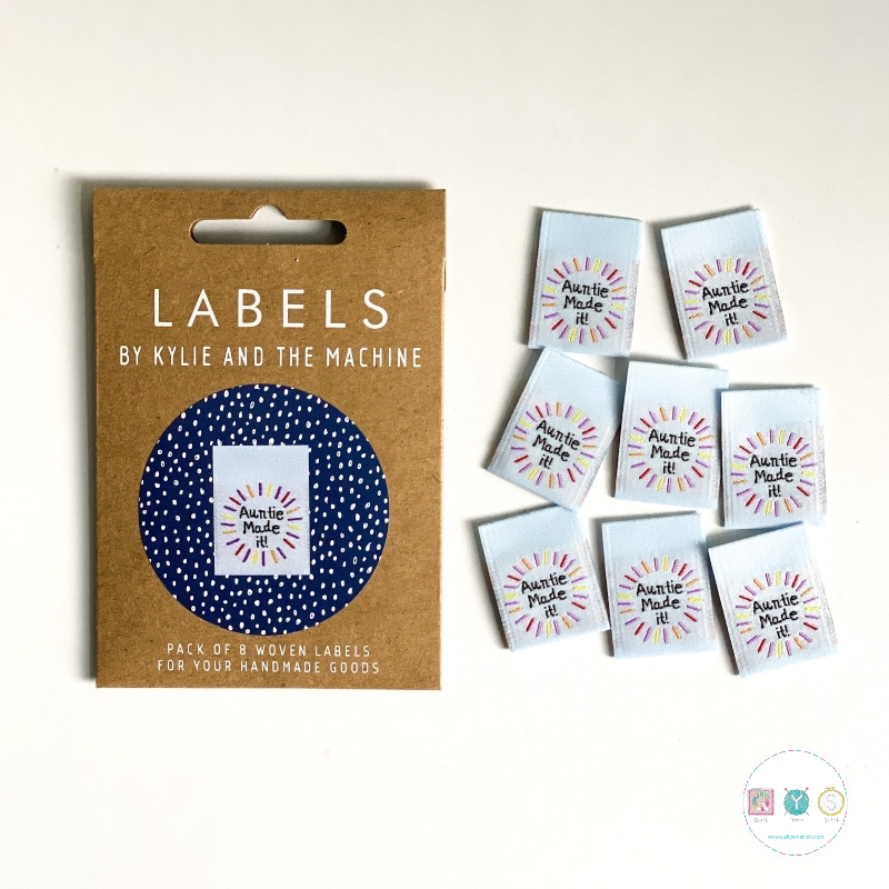 Gift Idea - Kylie and the Machine - Woven Labels - Auntie Made It