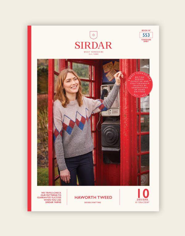 Knitting Pattern Book by Sirdar - Haworth Tweed DK Yorkshire Spirit Book 553
