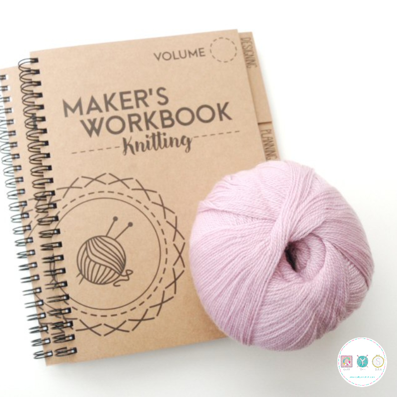 Gift Idea - Knitting Makers Workbook - by Pattern Trace - Knitting Planner - Knitters Gift