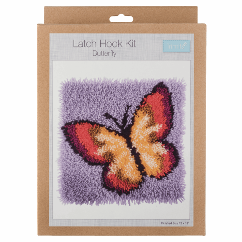 Gift Idea - Butterfly Latch Hook Kit