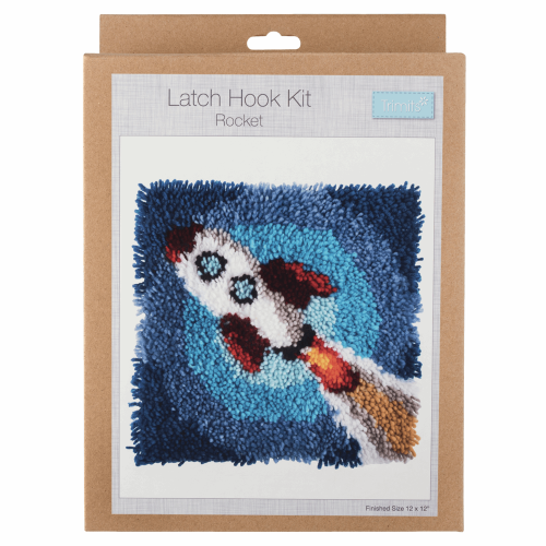 Gift Idea - Rocket Latch Hook Kit