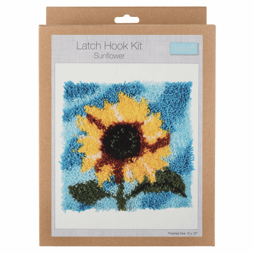 Gift Idea - Sunflower Latch Hook Kit