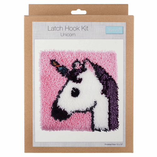 Gift Idea - Unicorn Latch Hook Kit