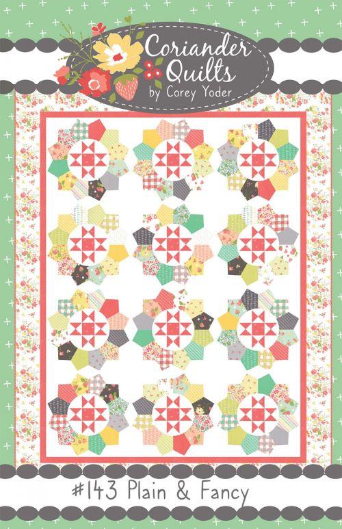 Plain And Fancy Quilt Pattern