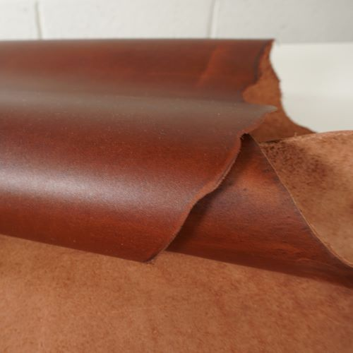 Leather - Cotto Chestnut Brown Colour 56069