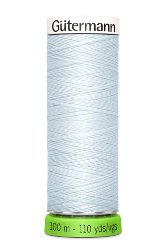 Gutermann Sew All Thread - Light Blue Recycled Polyester rPET Colour 193