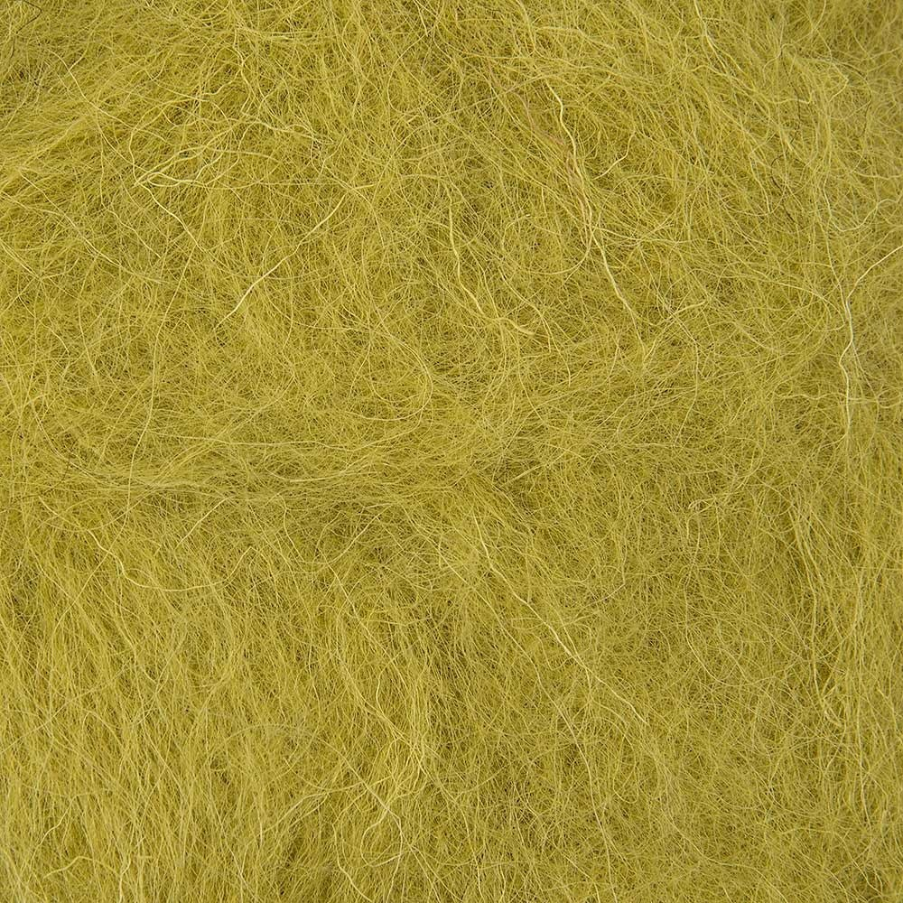 Lime Green - 50g Felt Wool for Wet and Dry Needle Felting