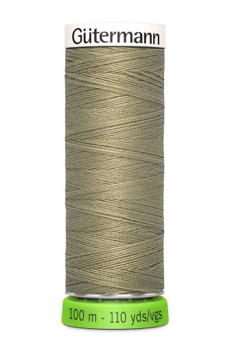 Gutermann Sew All Thread - Light Green Recycled Polyester rPET Colour 258