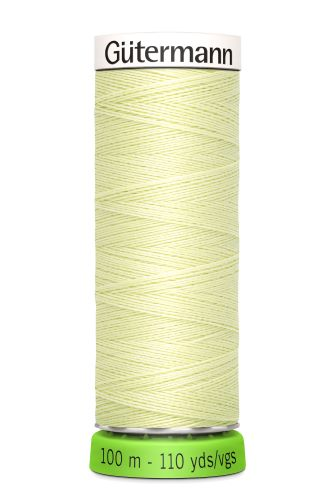 Gutermann Sew All Thread - Light Green Recycled Polyester rPET Colour 292