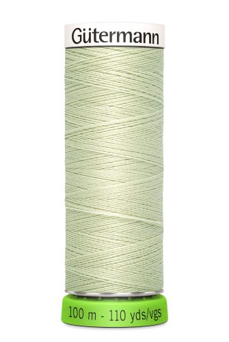 Gutermann Sew All Thread - Light Green Recycled Polyester rPET Colour 818