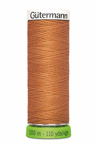 Gutermann Sew All Thread - Light Rust Recycled Polyester rPET Colour 612