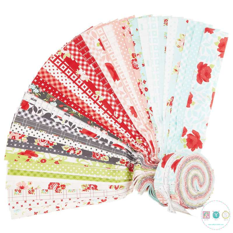 Little Snippets - Moda Jelly Roll by Bonnie And Camille - Pre-cuts - Patchwork & Quilting