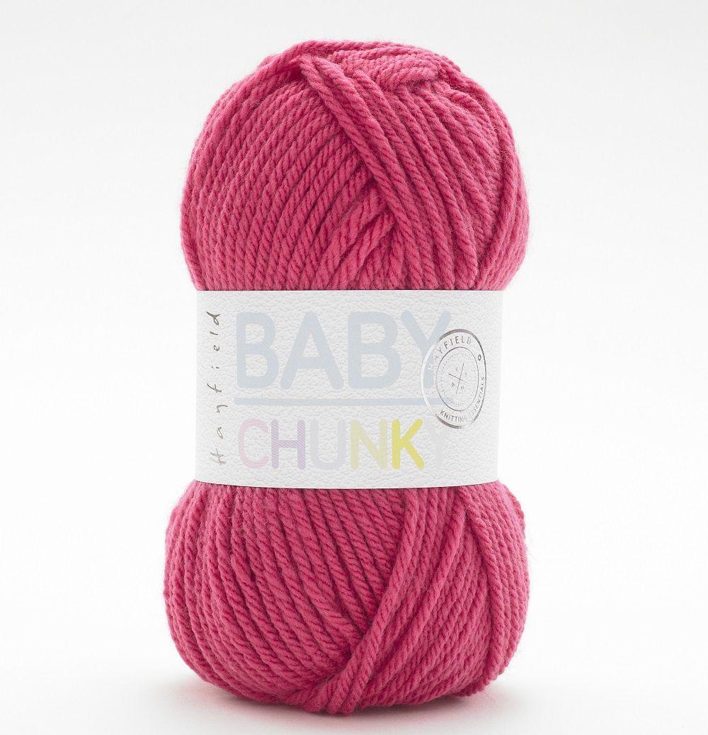 931aaae2a Hayfield Baby Chunky Wool - Lola Pink Yarn 406 - Quilt Yarn Stitch