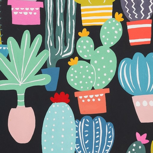 Quilting Fabric - Los Cactos by Alexander Henry Fabrics