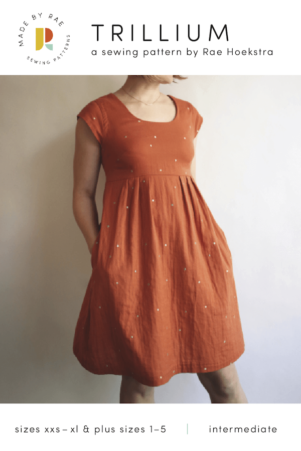 Made by Rae - Trillium Dress And Top Sewing Pattern