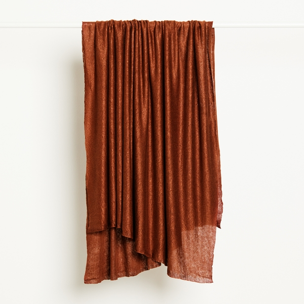 Fine Linen Knit Fabric in Sienna by Mind the Maker