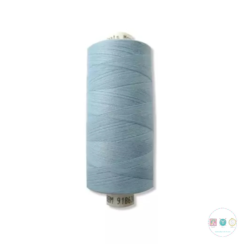 Coats Moon Thread - Light Blue - Polyester - MN100 - General Purpose Thread