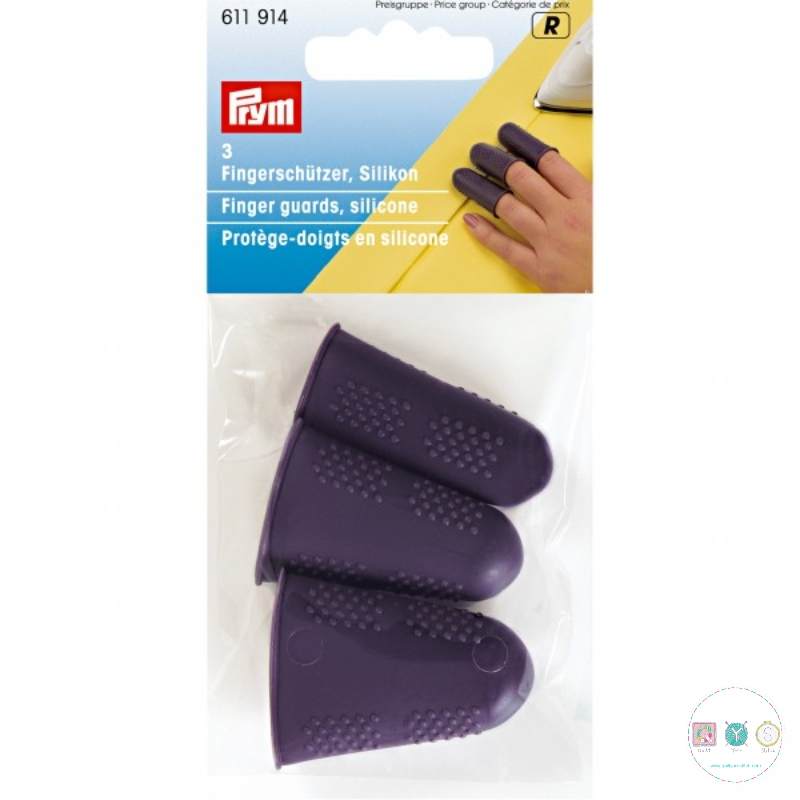 Prym - Finger Guards - 611 914 - Pack of 3 - Sewing Essentials