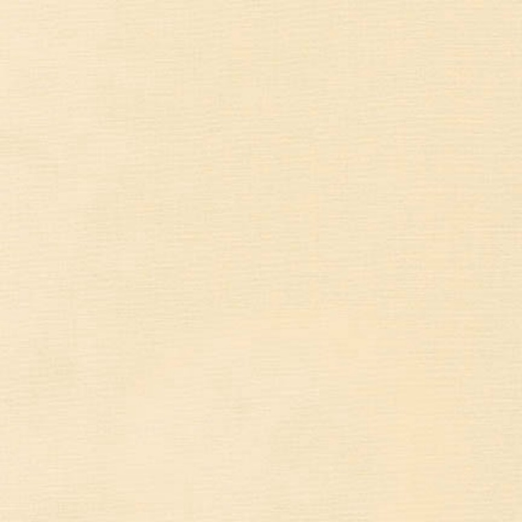 Robert Kaufman Kona Cotton Fabric - Plain Cream 1090 Solid Material for Patchwork & Quilting